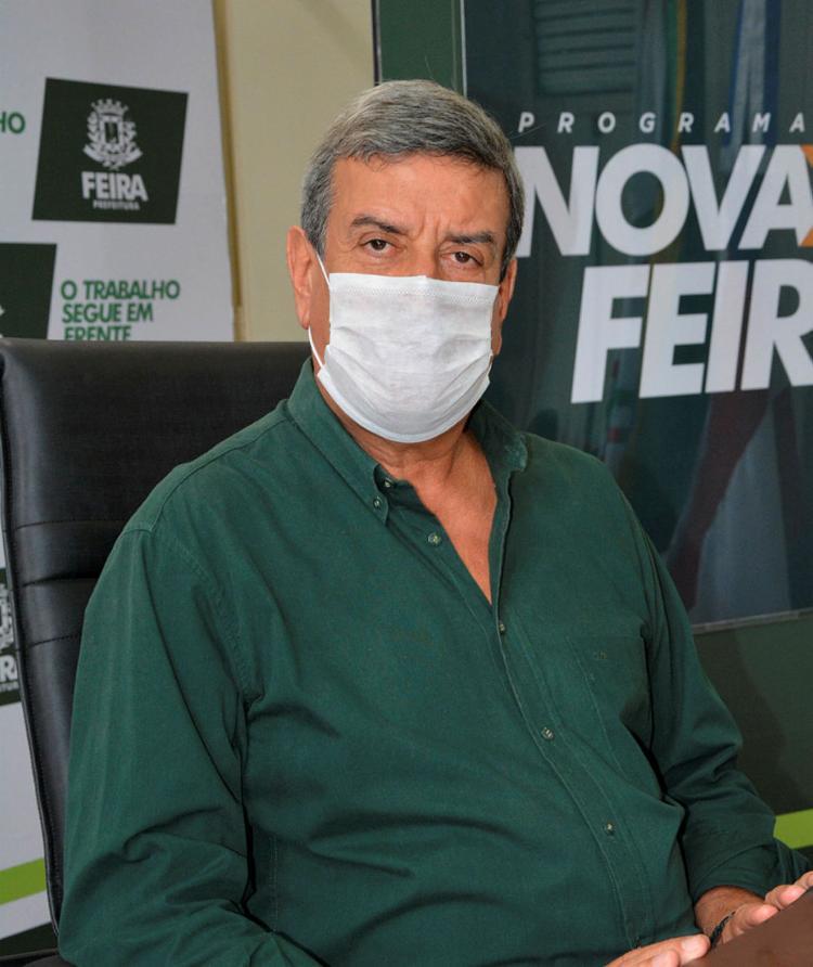 Atual prefeito, Colbert Martins (MDB) | Foto: ACM | Secom - Foto: ACM | Secom