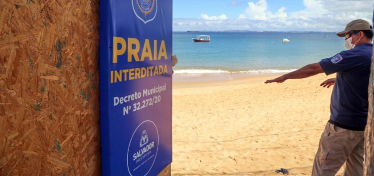 Porto da Barra, Buracão e Paciência permanecem fechadas | Foto: Secom | PMS - Foto: Foto: Secom | PMS