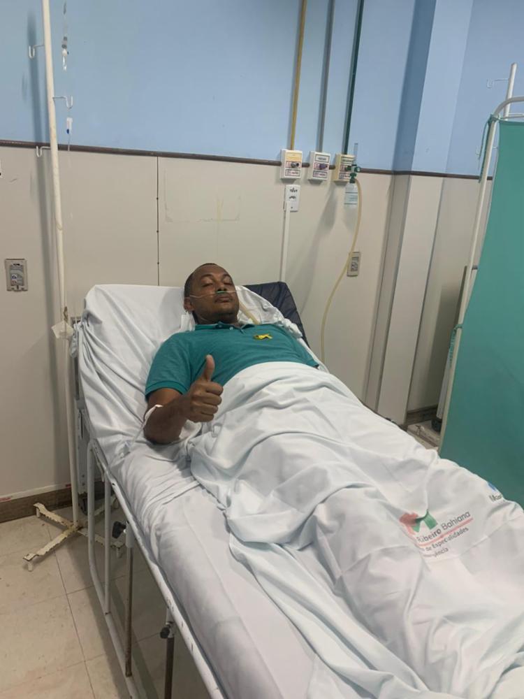 Prefeito procurou um hospital após ataque, mas passa bem - Foto: Reprodução