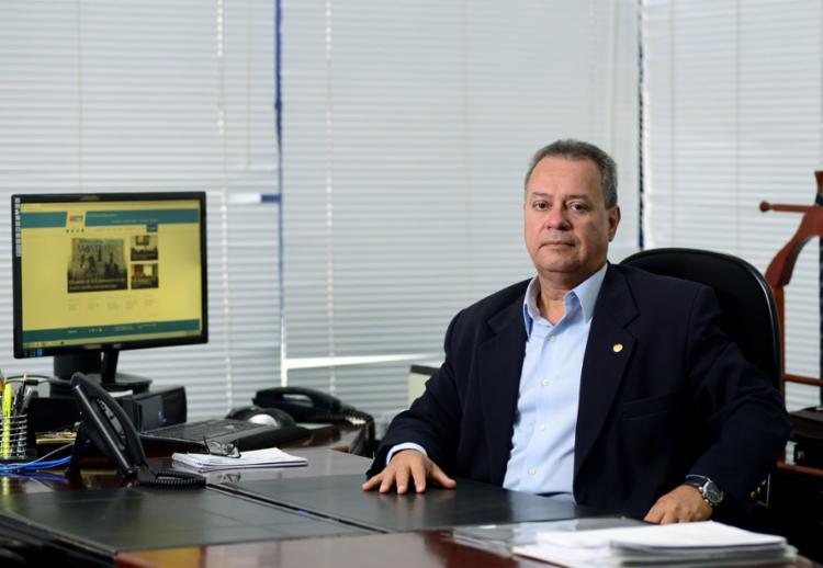Ricardo Alban mostra preocupação com o fim do auxílio emergencial | Foto: Valter Pontes (Coperphoto-Fieb) | Divulgação | 4.12.2017 - Foto: Valter Pontes (Coperphoto-Fieb) | Divulgação | 4.12.2017