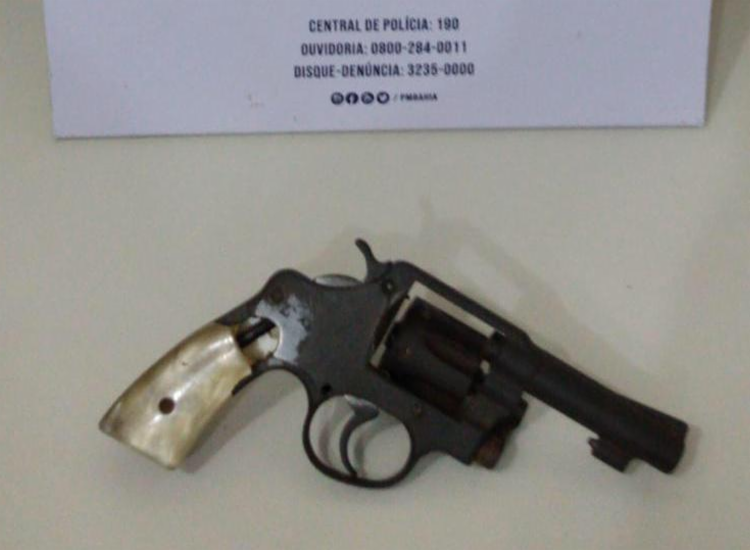Material foi encontrado com suspeito | Foto: Divulgação | SSP - Foto: Divulgação | SSP