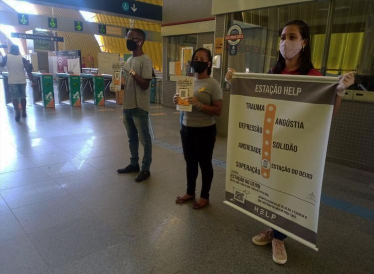Abordagem acontece nas plataformas e mezaninos das estações | Foto: Divulgação - Foto: Divulgação