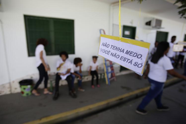 O Setembro Amarelo é a campanha de conscientização sobre a prevenção ao suicídio | Foto: Raul Spinassé | Ag. A TARDE | 16.09.2019 - Foto: Raul Spinassé | Ag. A TARDE | 16.09.2019