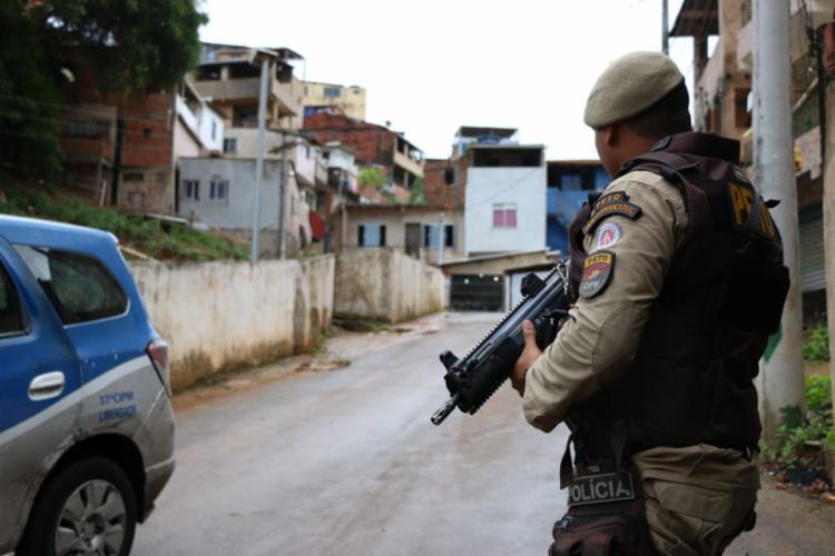 Foram contabilizados, em julho e agosto deste ano, 727 casos de mortes violentas contra 805, em 2019   Foto: Divulgação   SSP-BA - Foto: Divulgação   SSP-BA