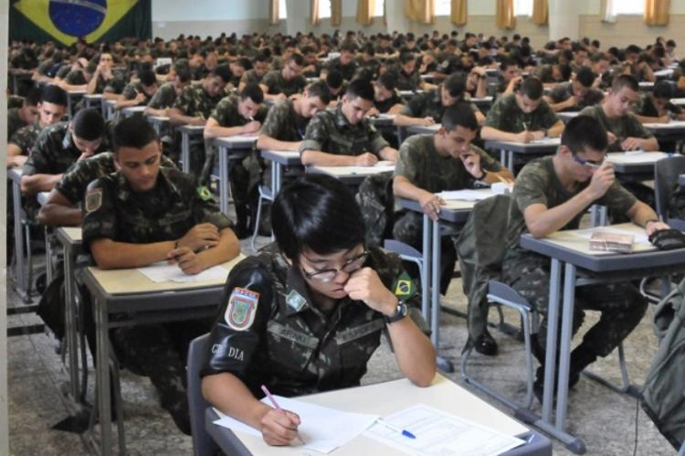 Os exames foram mantidos na data prevista pelos realizadores do concurso | Foto: Divulgação | Exército Brasileiro - Foto: Divulgação | Exército Brasileiro
