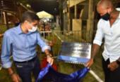 ACM Neto e Léo Santana inauguram
