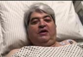 Apresentador José Luiz Datena se recupera de cirurgia após dores no peito | Foto: Reprodução | YouTube