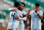 De virada, Argentina vence Bolívia por 2 a 1 pelas Eliminatórias | Foto: Juan Karita | AFP