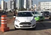 Atropelamento deixa um ferido na avenida ACM | Foto: Reprodução | TV Bahia