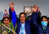 Apuração oficial confirma vitória avassaladora de Arce na Bolívia | Foto: Ronaldo Schemidt | AFP