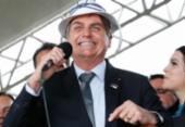 Bolsonaro é recebido por apoiadores na Igreja Assembleia de Deus em Salvador | Foto:
