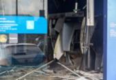 Agência da Caixa é alvo de bandidos em Porto Seco Pirajá; veja fotos | Foto: