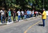 Candidatos à primeira habilitação participam de preleção antes dos exames do Detran | Foto: Foto: Divulgação | Detran-BA