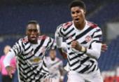 Liga dos Campeões: Manchester United vence PSG em noite apagada de Neymar | Foto: Frank Fife | AFP
