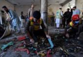 Explosão mata estudantes e fere quase 70 em seminário muçulmano no Paquistão | Foto: Abdul Majeed | AFP