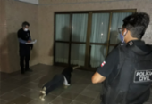 Para entender caso, polícia realiza simulação de tentativa de feminicídio em Jardim Armação | Foto: Divulgação | Polícia Civil