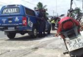 Homem é apreendido após atropelar e roubar uma pessoa na Suburbana | Foto: