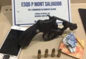 Polícia frustra tentativa de roubo a ônibus e prende dois bandidos em Salvador | Foto: Divulgação | SSP-BA