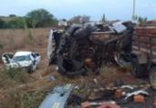 Acidente na BA 120 deixa três mortos e um ferido | Divulgação | Corpo de Bombeiros