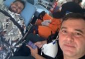 Jornalista está com um braço quebrado após sequestro | Divulgação