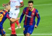 Philippe Coutinho sofre lesão e desfalca Barcelona   Lluis Gene   AFP