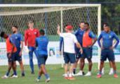 Tricolor faz penúltimo treino antes de duelo no Peru | Felipe Oliveira | EC Bahia