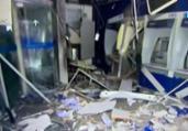 Ação criminosa destrói agência da Caixa em Salvador | Reprodução | TV Bahia