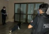 Polícia realiza simulação de tentativa de feminicídio | Divulgação | Polícia Civil