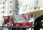 Incêndio atinge Hospital Federal de Bonsucesso, no Rio | Reprodução | GloboNews