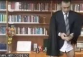 Ministro aparece sem calças durante videoconferência | Foto: Reprodução