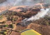 Bombeiros monitoram incêndios no interior da Bahia   Divulgação   CBMBA