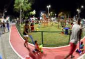 Requalificação da Praça de Paripe é inaugurada | Valter Pontes | Secom