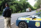 Motorista é preso por débito de pensão alimentícia | Divulgação | PRF-BA