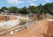 Rui visita obras de urbanização em Nova Constituinte | Foto: Fernando Vivas | GOVBA
