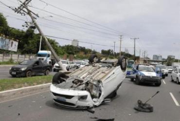 Salvador tem menos acidentes no trânsito, mas registra aumento de letalidade | Joá Souza | Ag. A TARDE | 23.09.2019