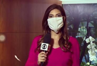 Jornalista Andreia Sadi está grávida de gêmeos | Reprodução | TV Globo