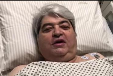 Apresentador José Luiz Datena se recupera de cirurgia após dores no peito | Reprodução | YouTube