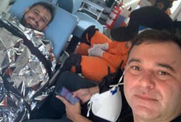 Jornalista é encontrado com o braço quebrado e amarrado em árvore após sequestro | Divulgação