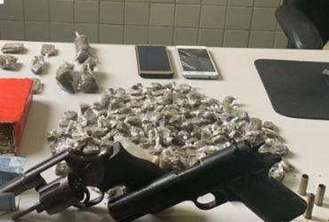 Armas e drogas são apreendidas durante operações em Camaçari | Divulgação | SSP-BA