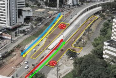 Obras do BRT alteram tráfego na região da Av. ACM a partir desta quarta-feira | Secom | Divulgação
