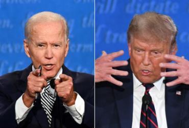 Biden promete controlar coronavírus e Trump oferece 'super-recuperação' | Saul Loeb e Jim Watson | AFP
