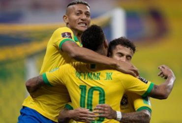 Seleção estreia nas Eliminatórias com goleada de 5 a 0 sobre a Bolívia | Lucas Figueiredo | CBF
