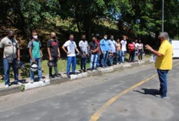 Candidatos à primeira habilitação participam de preleção antes dos exames do Detran | Foto: Divulgação | Detran-BA