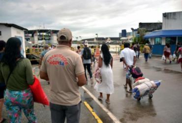Capacidade de passageiros no sistema hidroviário é ampliada para 75% | Foto: Ulgo Oliveira | Seinfra