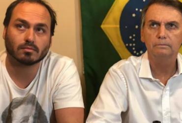 Carlos Bolsonaro usa redes sociais do presidente por engano para atacar colunista | Foto: Reprodução