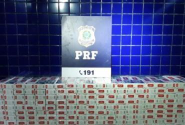 Cerca de 40 mil unidades de cigarro e outros produtos contrabandeados são apreendidos em Barreiras