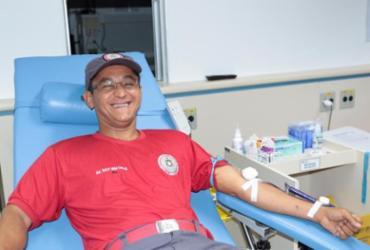 Corpo de Bombeiros e Hemoba realizam segunda edição de campanha de doação de sangue | Divulgação | Hemoba