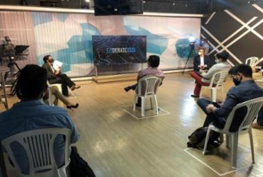 Candidatos à prefeitura de Salvador participam do primeiro debate na TV | Divulgação