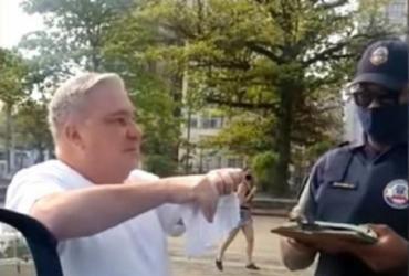 Guarda municipal humilhado por desembargador pede R$ 114 mil de indenização | Reprodução | Redes Sociais