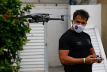 Drones utilizados pela PF vão identificar possíveis crimes eleitorais | Rafael Martins | Ag. A TARDE